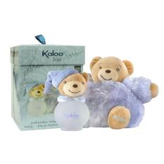 Bộ Nước Hoa Kaloo Maxi Fuluffy Set+Scented Water 100Ml Blue