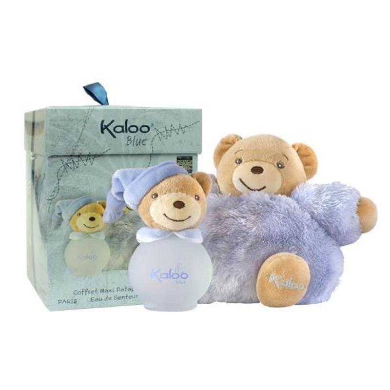 Bộ Nước Hoa Kaloo Maxi Fuluffy Set+Scented Water 100Ml Blue nhập khẩu