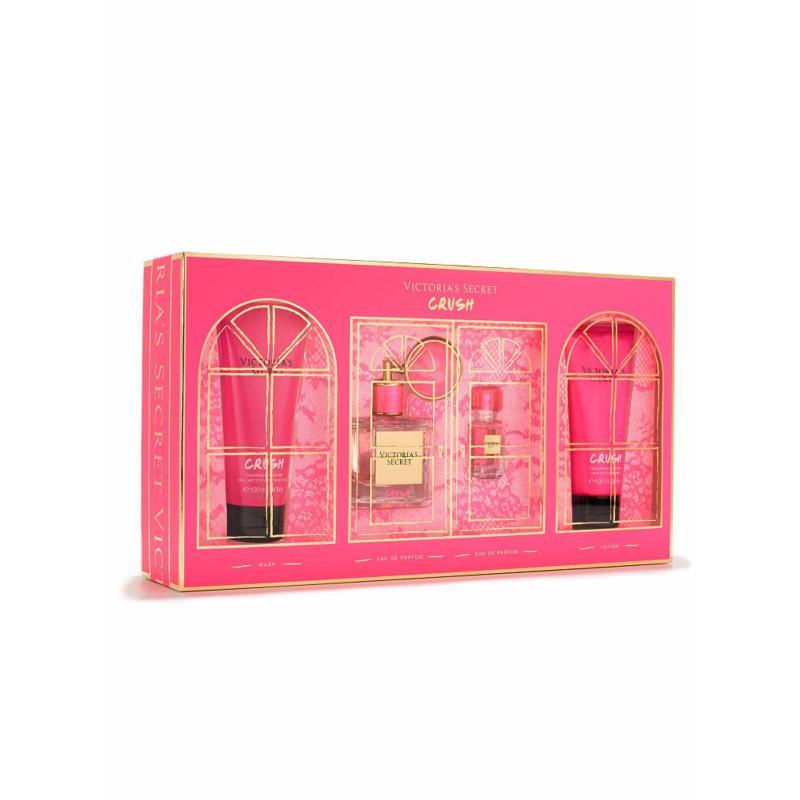 Bộ quà tặng nước hoa, sữa tắm, lotion Victorias Secret Crush Gift Set (Mỹ)