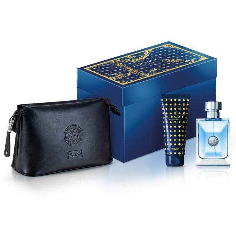 Bộ quà tặng Versace Pour Homme EDT 100ml và Gel tắm gội 100ml kèm túi xách cao cấp