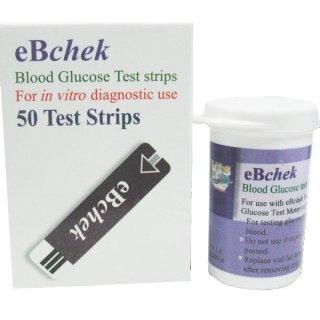 Bộ que thử đo đường huyết eBchek eBchek-TS 50 que thumbnail