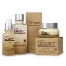 Giá Bán Bộ Sản Phẩm Dưỡng Da Toan Diện Chiết Xuất Đường Đen Va Nước Dừa Tinh Khiết April Skin Sugar Coconut Set Trực Tuyến Vietnam