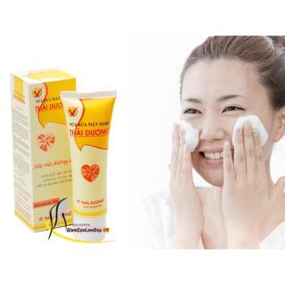 Bộ sản phẩm sữa rửa mặt nghệ và kem nghệ Thái Dương thumbnail