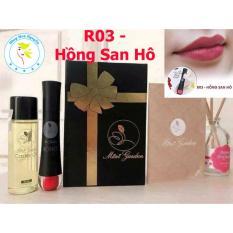 Bán Bộ Son Kem Li Cao Cấp Roses Matte Lipstick R03 Hồng San Ho Tẩy Trang Moi Có Thương Hiệu Nguyên