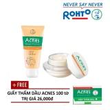Mua Bộ Sửa Rửa Mặt Va Kem Dưỡng Acnes Vitamin Tặng 1 Giấy Thấm Dầu Acnes