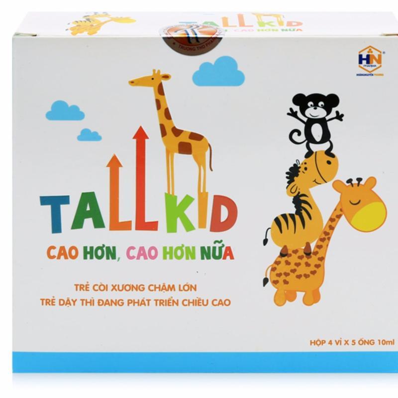 Bổ sung Vitamin, tăng chiều cao, giúp trẻ ăn ngon - Tallkid cao cấp
