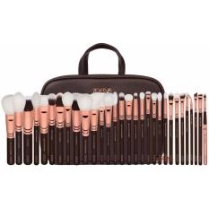 Giá Bán Bộ Sưu Tập Cọ Trang Điểm Chuyen Nghiệp Cao Cấp 30 Cay Zoeva Makeup Artist Zoe Bag Rose Golden Vol 1 Zoeva Mới