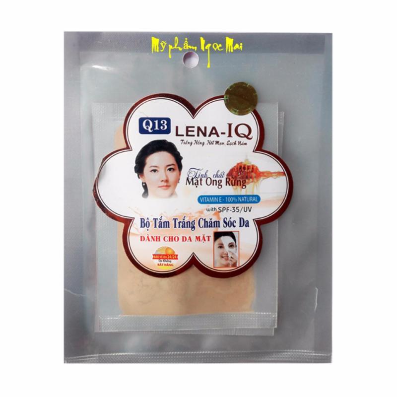 Bộ tắm trắng chăm sóc da tinh chất Mật Ong Rừng dành cho da mặt Q13 LENA-IQ nhập khẩu