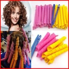 Bộ tạo kiểu tóc xoăn 18 ống Curlformer dài 10cm nhập khẩu