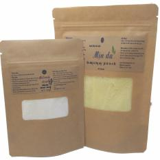 Bộ túi muối tắm tinh dầu mịn da (muối lecaleuca) 250gr và muối rữa mặt oải hương100gr Ngọc Tuyết 100% hữu cơ Việt Nam
