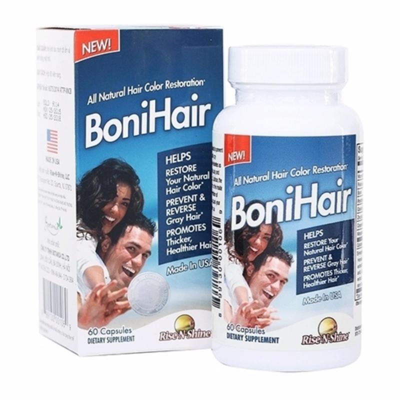 Viên uống BoniHair - Ngăn chặn và đảo ngược quá trình bạc tóc  (30 viên) nhập khẩu