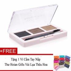 Bán Bột Kẻ Chan May Vacosi Eyebrow Kit No 2 Beige Brown 7 5G Tặng Vi Cầm Tay Nắp Thư Hoian Gifts Vải Lụa Theu Hoa