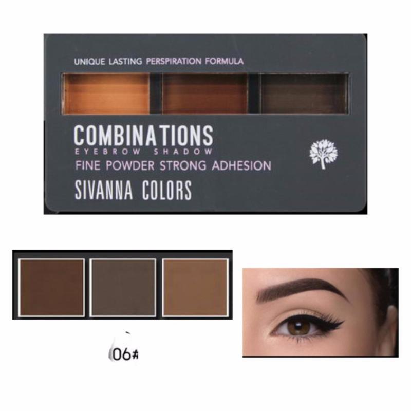 Bột kẻ mày Sivanna Colors Combinations Eyebrow 8g #06
