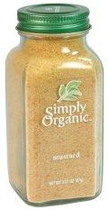 Giá Bán Bột Mu Tạt Vang Simply Organic Mustard Seed Ground 87G Mới Nhất
