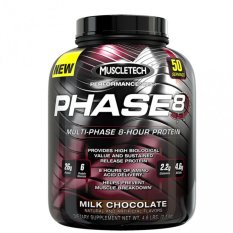 Bán Bột Protein Muscle Tech Phase8 Multi Phase 8 Hour Protein Vị Chocolate 2Kg Rẻ Vietnam
