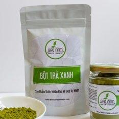 Bột Trà Xanh Nguyên Chất Bảo Lộc 100g - Bảo Nam ( dạng túi)