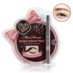 Bút chì vẽ mắt Long Lasting Eyeliner MISS HANA  #02 NÂU NHẠT nhập khẩu