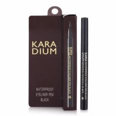 Hình ảnh Bút Dạ Kẻ Mắt Nước Karadium Waterproof Brush Liner Black 0.55g