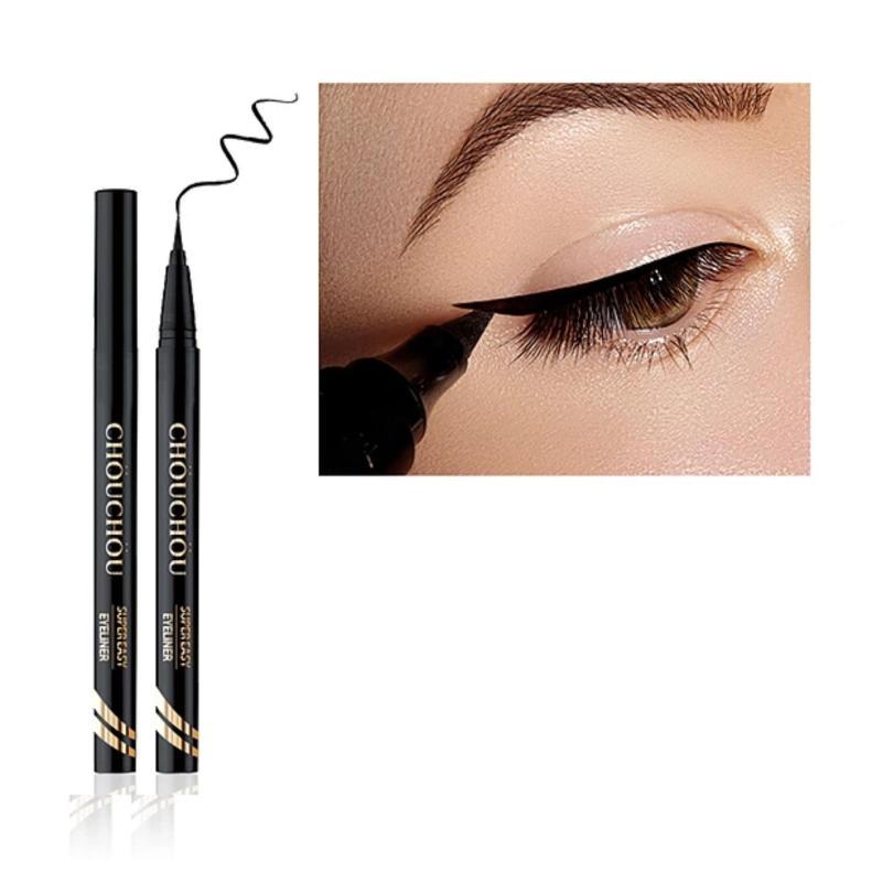 Bút kẻ viền mắt siêu mảnh, chống trôi, dễ kẻ Chou Chou Super Easy Eyeliner Brush 0.5g