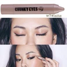 Mã Khuyến Mại But Sap Mau Mắt Nhũ W7 Chunky Eyes 2 5G Mau Latte