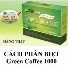 Bán Ca Phe Xanh Giảm Can Tan Mỡ Green Coffee 1000 Phan Biệt Thật Giả Hà Nội