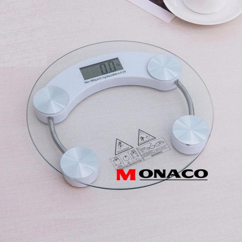 Cân Điện Tử Mặt Kính Chịu Lực 180kg PERSONAL SCALE Monaco
