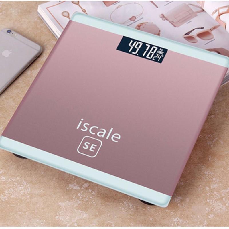 Cân sức khỏe điện tử cho cả gia đình 180kg kiểu dáng iphone ISCALE SE