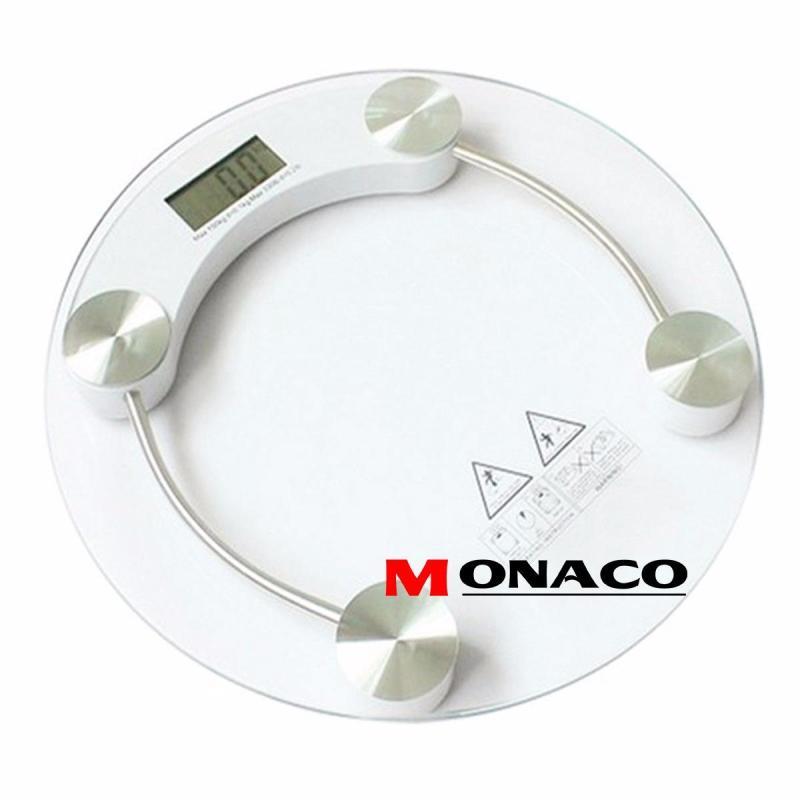 Cân Sức Khỏe Điện Tử Hình Tròn Trong Suốt Monaco nhập khẩu