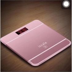 Cân sức khỏe điện tử kiểu Iphone Iscale (Hồng) nhập khẩu