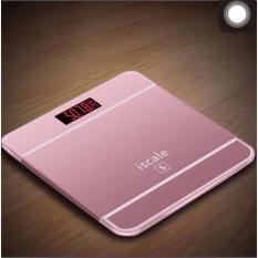 Cân sức khỏe điện tử kiểu Iphone Iscale (Hồng)