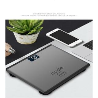 Cân sức khỏe điện tử kiểu Iphone Iscale (mini) thumbnail