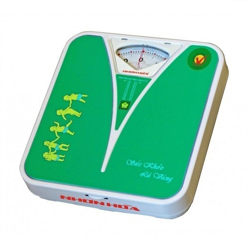 Cân sức khỏe Nhơn Hòa 120kg (Xanh lục) nhập khẩu