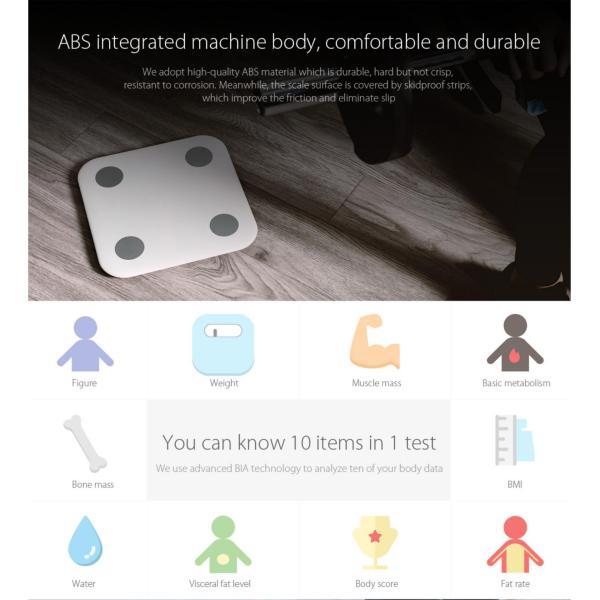 Cân Thông Minh Xiaomi-Gen 2 Smart Scale 2 nhập khẩu