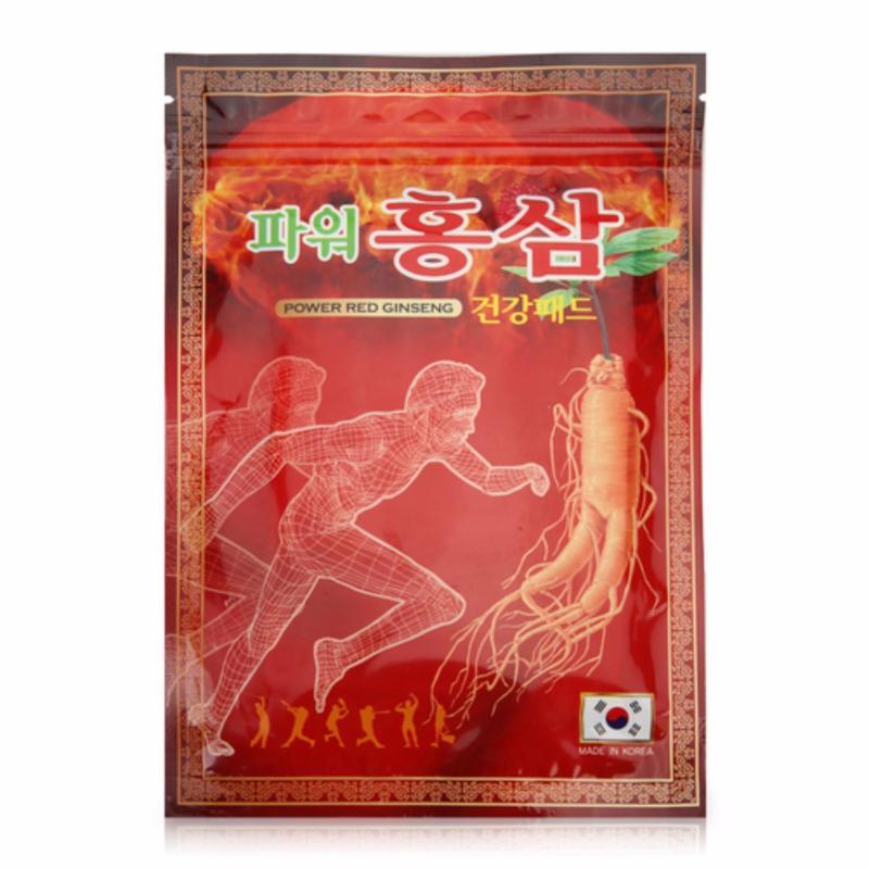 Cao dán giảm đau Hồng Sâm Hàn Quốc Power Red Ginseng (gói 20 miếng) tốt nhất