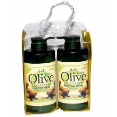 Hình ảnh Cặp Dầu Gội Xả Olive 800ml