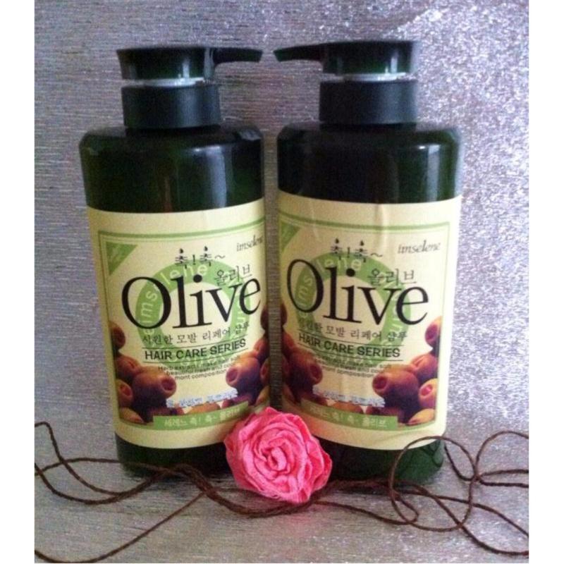 Cặp Dầu Gội Xả Olive 800ml giá rẻ