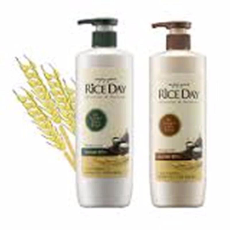 Cặp Dầu Gội Xả RiceDay cho tóc Suôn Mượt giá rẻ