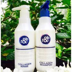 Cặp gội xả ngăn rụng tóc R&B Collagen 450ml