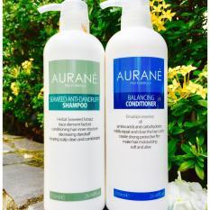 Cặp gội xả trị gàu Aurane Seaweed Anti Dandruff 750ml