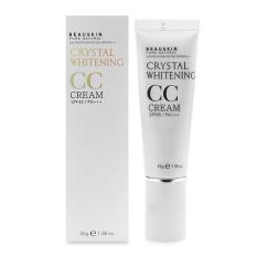 Hình ảnh CC Cream trang điểm làm trắng sáng da Beauskin CC Cream Crystal Whitening SPF45/PA+++ 45g (Hàng Chính Hãng)