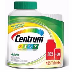 Centrum multivitamin dành cho nam và nữ dưới 50 tuổi - 425 viên