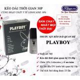 Chai Xịt Keo Dai Thời Gian Quan Hệ Va Trị Xuất Tinh Sớm Play Boy 5Ml Mới Nhất