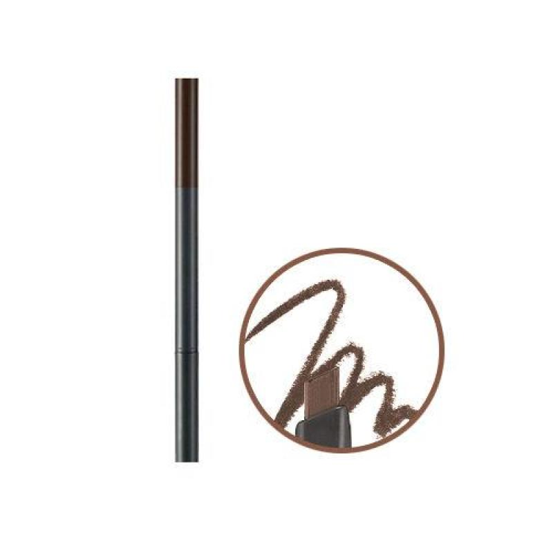 THEFACESHOP - Chì Chân Mày Designing Eyebrow Pencil 04 Black Brown 0.3G