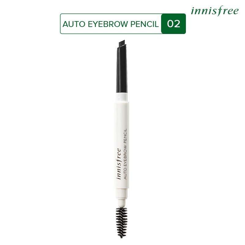 Chì kẻ chân mày Innisfree Auto Eyebrow Pencil Black 0.3g #2 nhập khẩu
