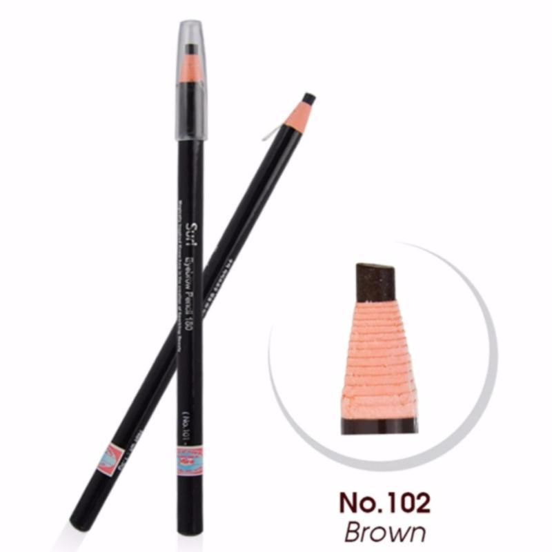 Chì Kẻ Mày Xé Suri Eyebrow Pencil Hàn Quốc E271-102 (Màu nâu) cao cấp