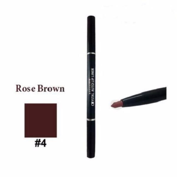 Chì kẻ viền môi Beauskin Crystal Auto Lip Liner # 04 Rose Brown tốt nhất