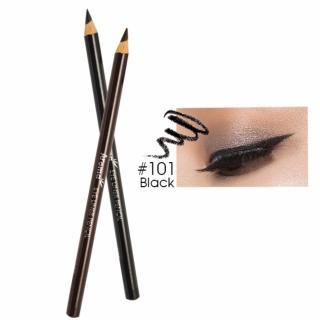 Chì vẽ mí mắt Aroma Luxurious Makeup Eyeliner Pencil No.101 Hàn Quốc 2g (Màu đen) - Hàng chính hãng thumbnail