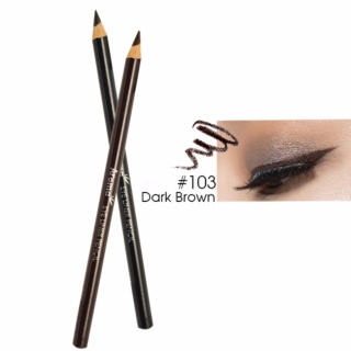 Chì vẽ mí mắt Aroma Luxurious Makeup Eyeliner Pencil No.103 Hàn Quốc 2g (Màu nâu) - Hàng chính hãng thumbnail