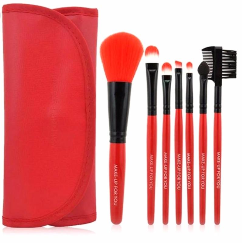 Cọ 7 món Makeup For You cho người mới học trang điểm + Tặng Kèm bao đựng đỏ