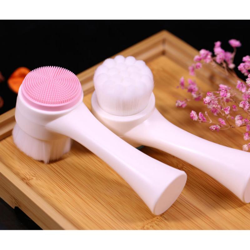 Cọ Rửa Mặt và massage korea(2 in 1) xt Hàn quốc